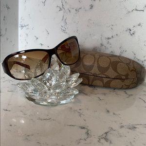 😎 Coach Sunglasses. Sarah Tortoise S437.